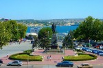 CRIMEAN WAR TOUR :: The Nakhimov monument in Sevastopol